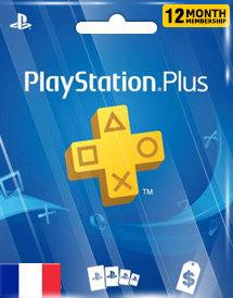 Abonnement de 12 mois à la PlayStation Plus (FOR) Promo à prix réduit