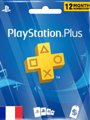 abonnement de 12 mois à PlayStation
