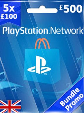 ABONNEMENT PSN GBP500 (UK) FIFA 19 PS4
