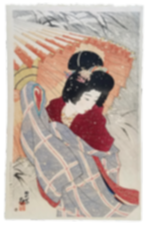6 VERNE COLLECTION Ito-Shinsui-Snowstorm