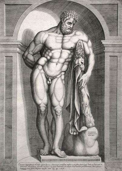 4 RS JOHNSON Bos - Farnese Hercules - Ja