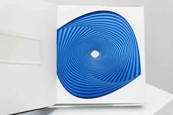 Library Sculpture (Blue)