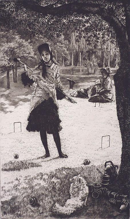 1 GEORGINA KELMAN Tissot Croquet - Georg