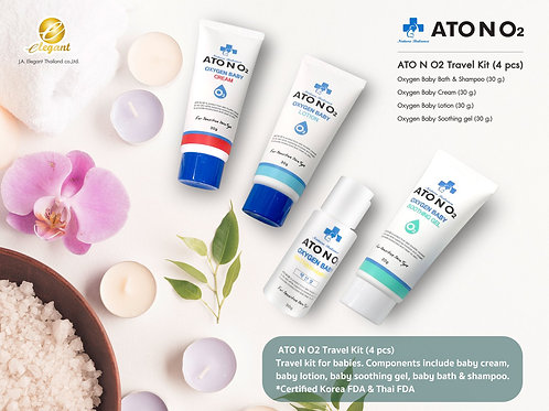 ATO N O2 Travel Kit (4 pcs)