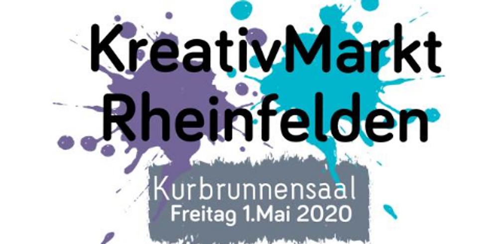 VERSCHOBEN KreativMArkt Rheinfelden 1. Mai 2021