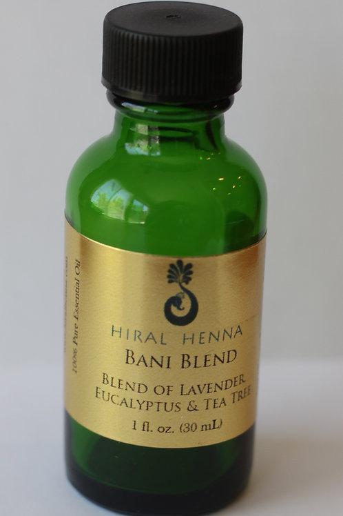 Hiral Henna Bani Blend - 100% Pure EO