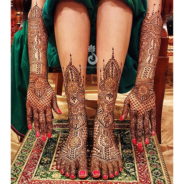 #ThrowbackThursday to _hmsandhu's #bridalhenna