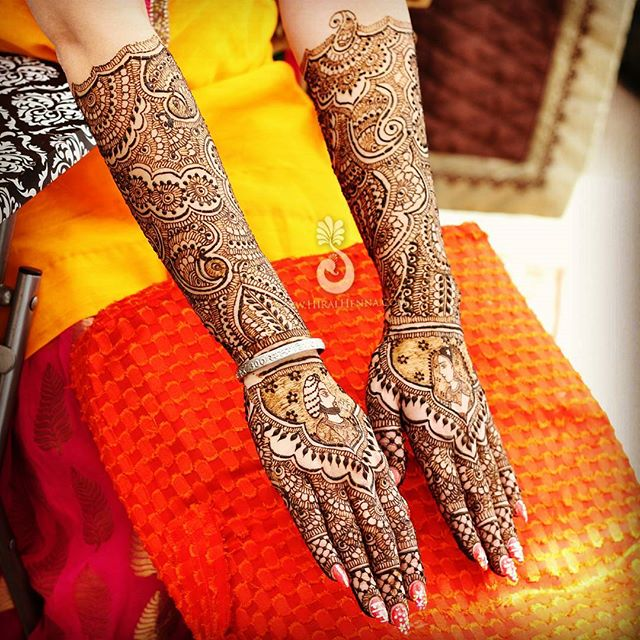 This was my first #bridalhenna of 2016, and I was happy with how things started out