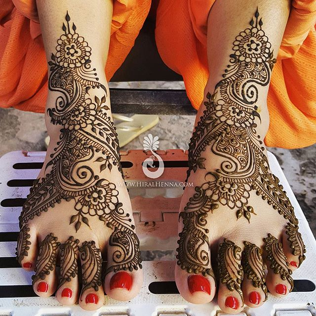 Indo-Arabic #BridalFeet for _sharontakhar1
