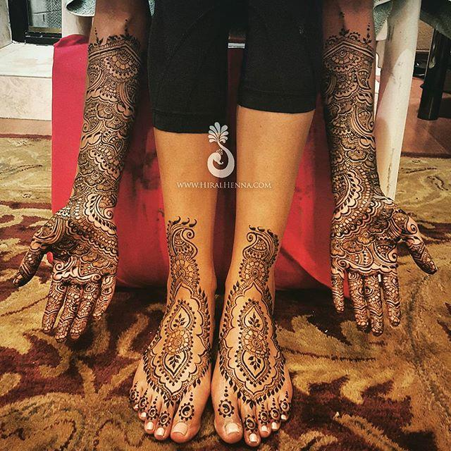 #Bridalmehndi for Sofia who was such a sweet bride!__#bridalhenna #henna #mehndi #hiralhenna #dulhan
