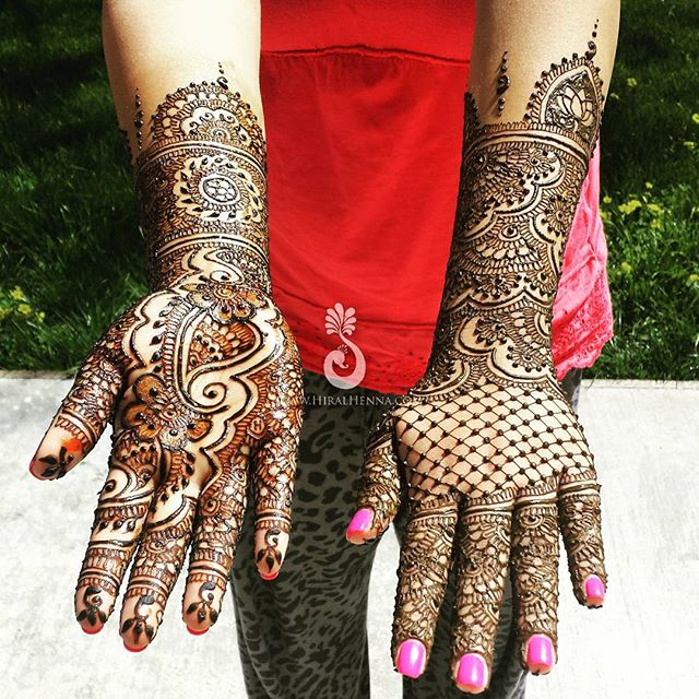 #ThrowbackThursday to _shebaroykanakia's #EngagementMehndi earlier in the year