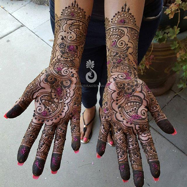 #IndoArabic #EngagementMehndi for Roweena _#henna #mehndi #hiralhenna #instadaily #igdaily #MehndiMo