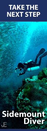 PADI/SDI Sidemount Diver (Сайдмаунт):    3 дня Максимальная глубина тренировки 30м  Цена 15,000 руб  (включая снаряжение, учебник и сертификат)  Входные требования:  Open Water Diver