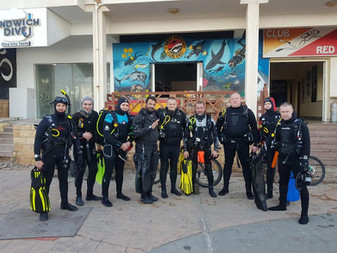 Diving in Dahab with XDI - summertime is here!
