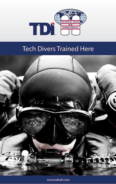 TDI - лидер в обучении техническому дайвингу с 1994