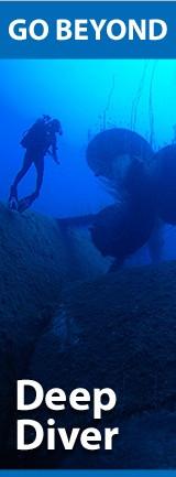 PADI/SDI Deep Diver (Глубокие погружения):    2 дня, 4 погружения Максимальная глубина тренировки 40м  Цена 12000 руб  (включая снаряжение, учебник и сертификат)  Входные требования:  ِAdventure Diver