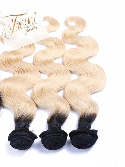 Belle Russian Blonde w/ Dark Roots