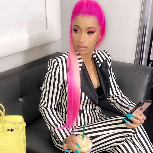 """Pink Lava Full Lace Wig 24"""""""