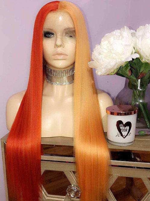 """Pumpkin Spice"" Full Lace 26in"