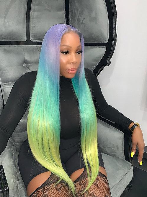 """Unicorn Goddess Full Lace Wig 30"""""""