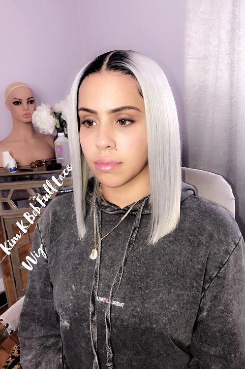 Kim k Full Lace Bob