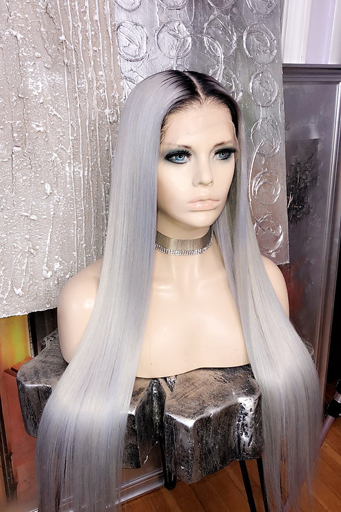 Custom Kim k Edit Full Lace Wig 28""