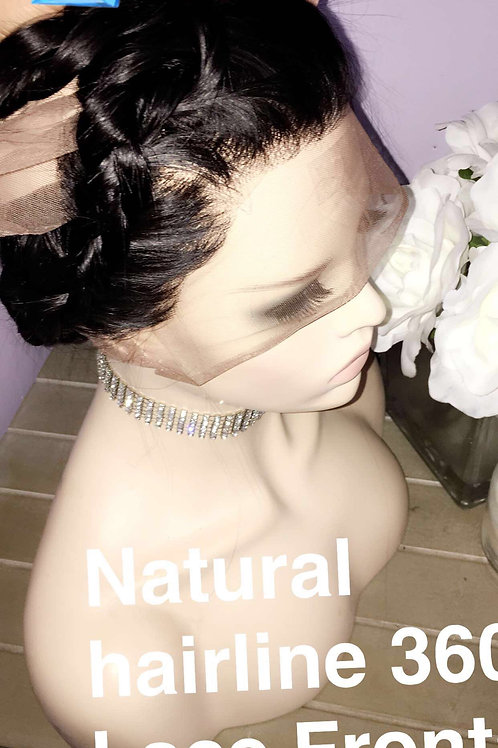 """Indian straight 360 frontal 20"""""""