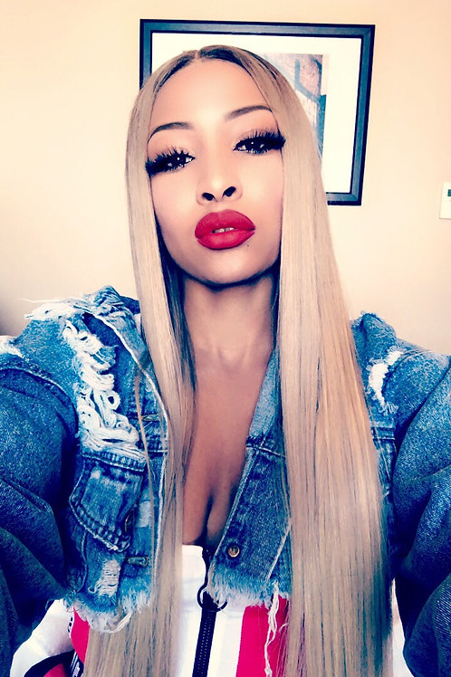 """Tyra Full Lace Wig 180% density 26"""""""