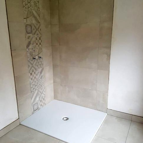 Projet de douche italienne