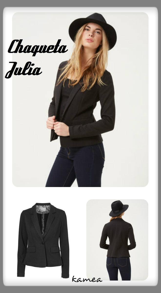 chaqueta julia negro