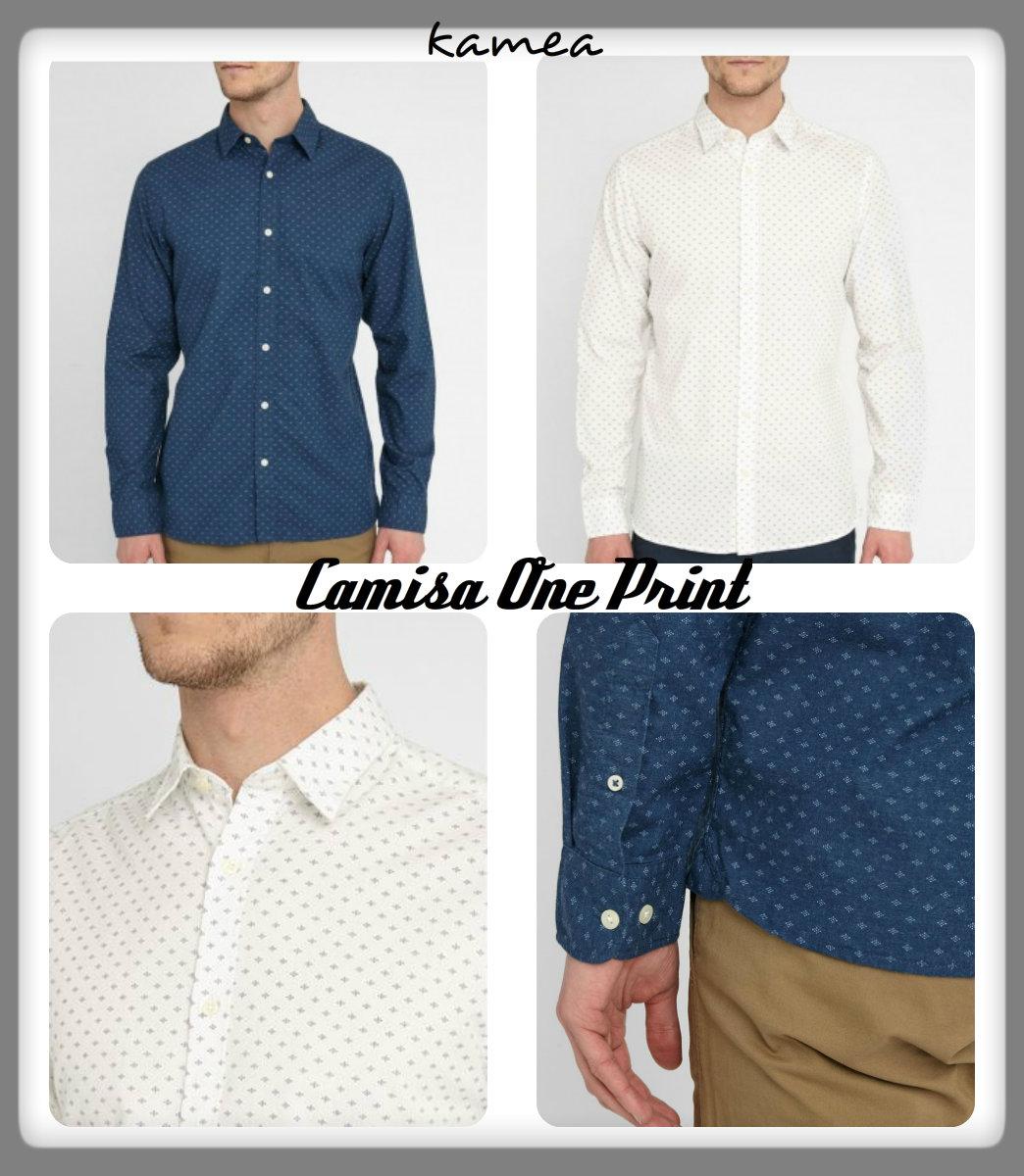 camisa one print