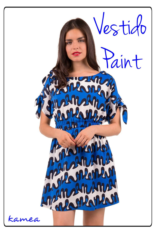 vestido paint