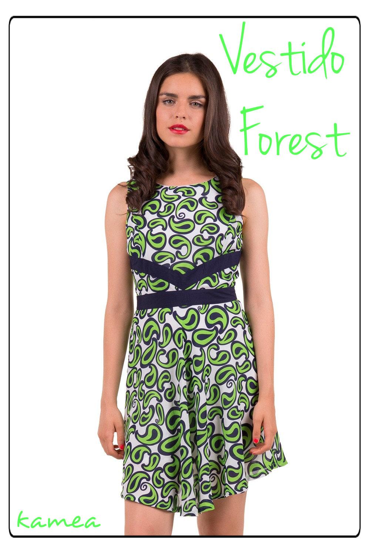 vestido forest