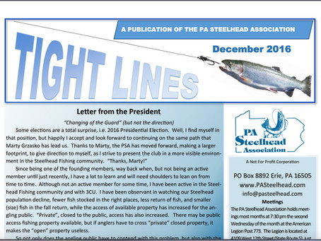 Tight Lines:  PA Steelhead Association