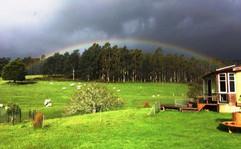 Rainbow over Atma Darshan
