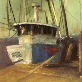 Shrimp Boat at Dry Dock