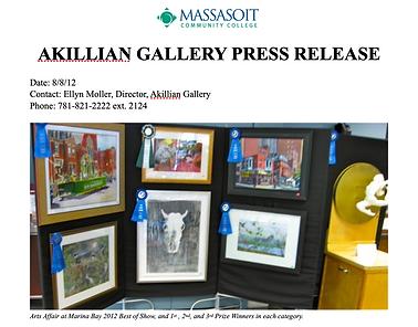 Akillian Gallery Article