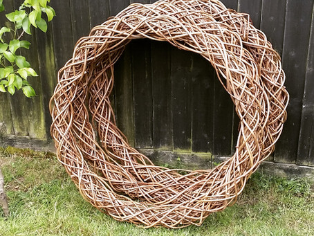 Natural flower frames / bases