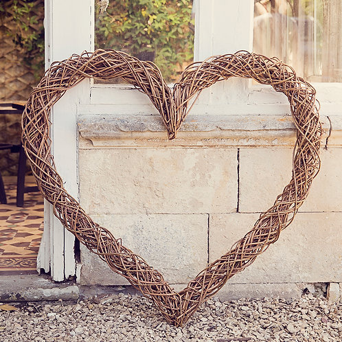 Large Willow Heart