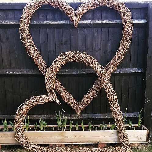 Extra Large Willow Heart