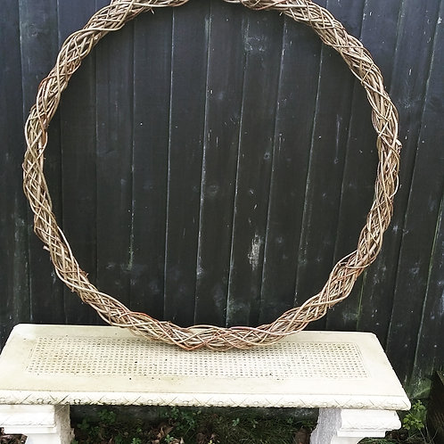 2 x Large, Half-Thickness Wreaths