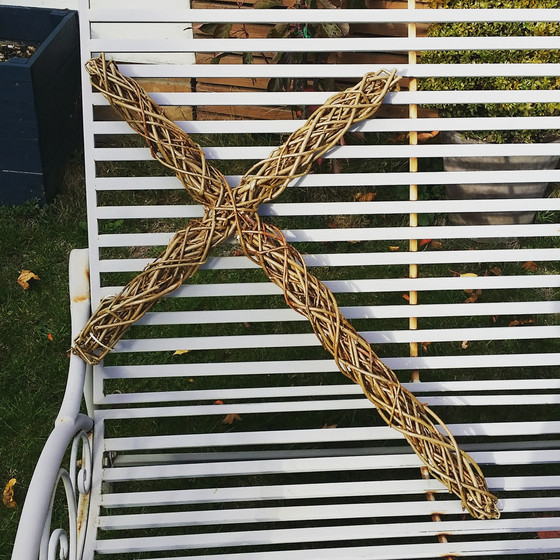 Large Willow Cross!