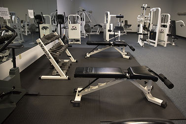 Fitness Center Free Weighs