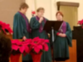The United Methodist Church of Frankston choir special music