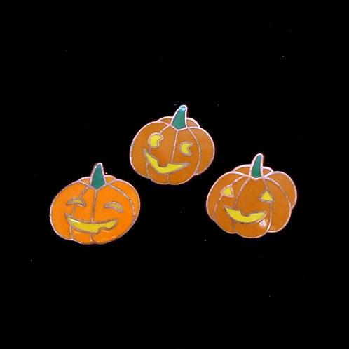 Smiling Pumpkins (3 Pins)