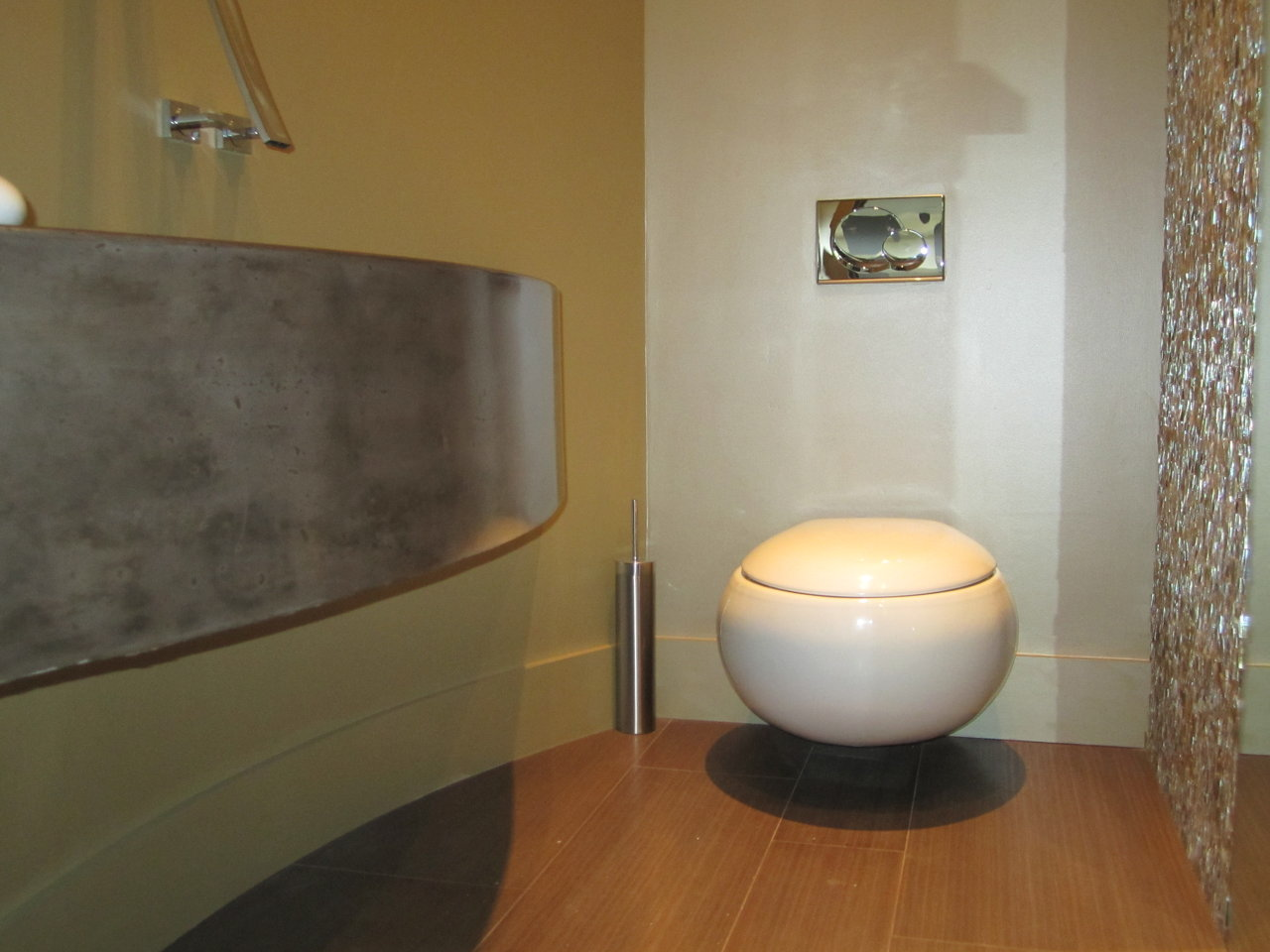 Modern Powder Bath