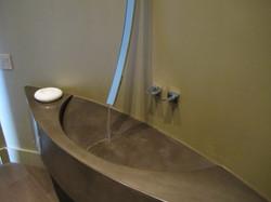 Powder bath sink