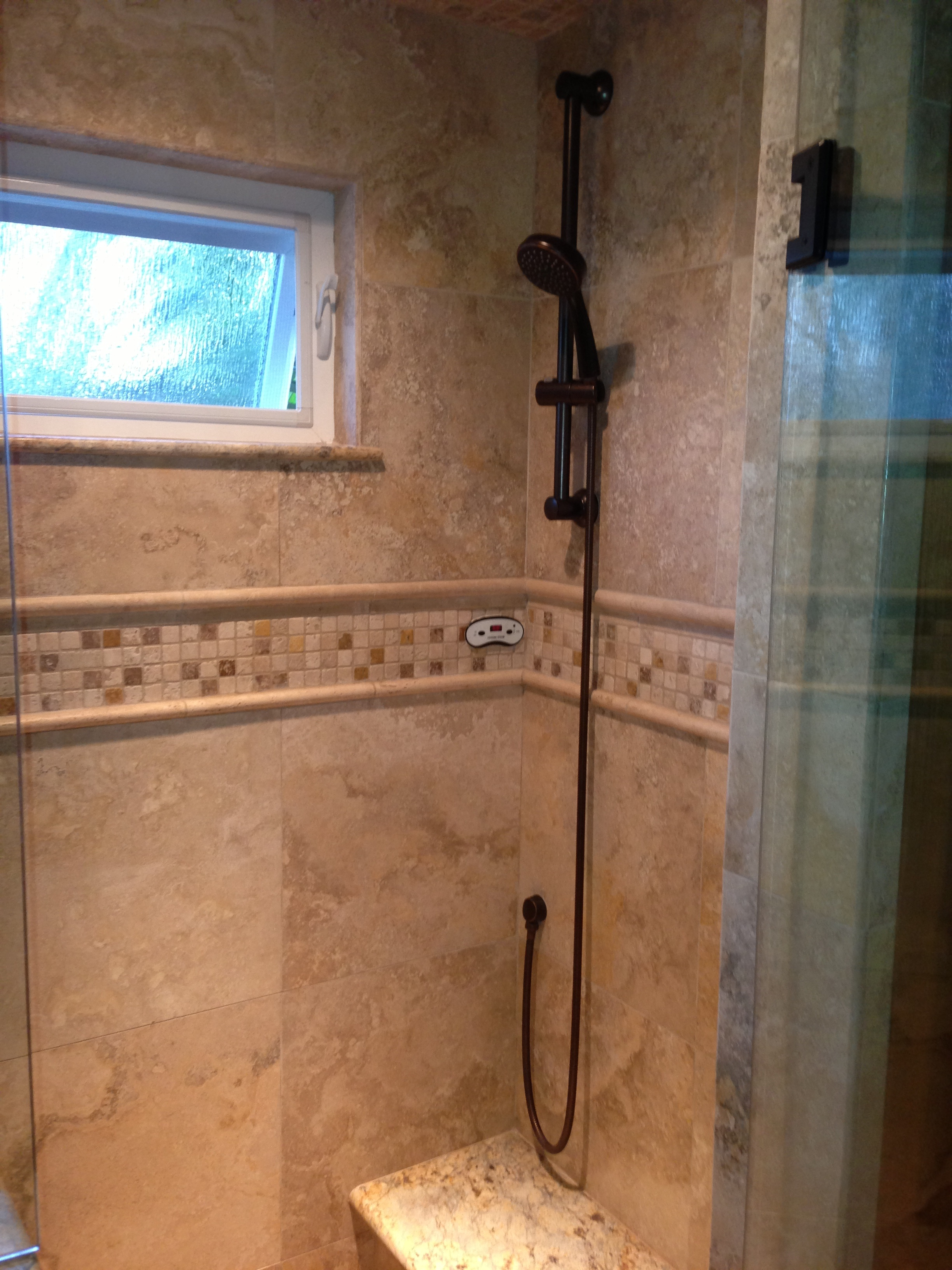 Shower with Steam Unit