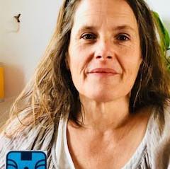 Elodie Mercadié, Singe bleu lunaire