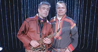 Bernt Mikkel Haglund og Ville Söderbaum.